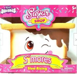 Silly Squishy S'mores New n Box Sugar Shop Jumbo